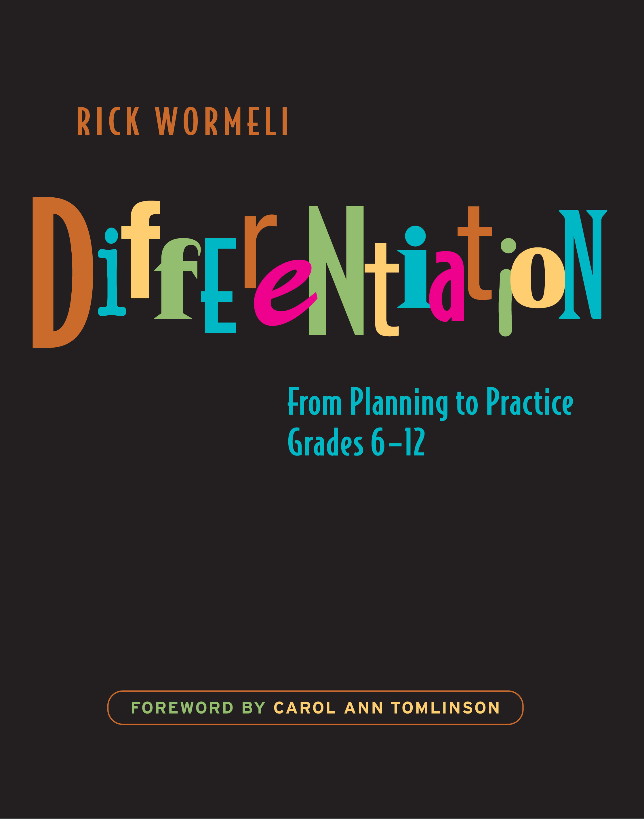 Differentiation Stenhouse Publishers
